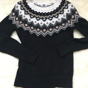 Old Navy black sweater extra small